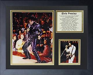Legends Never Die Elvis Presley In Concert Framed Photo Collage, 11x14-Inch