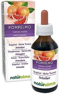 POMELO (Citrus paradisi) semillas Tintura Madre sin alcohol NATURALMA | Enriquecido con vitamina C | Extracto líquido gotas 100 ml | Complemento alimenticio | Vegano