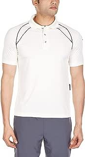 GM 7205 Half Sleeve T-Shirt, Medium (White/Navy)