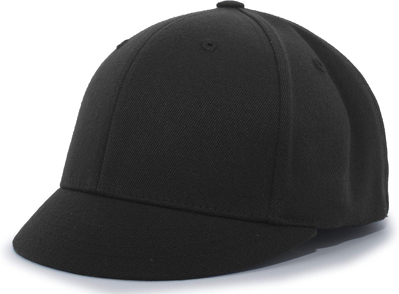 Pacific Headwear Wool Plate Umpire Flexfit Cap