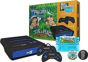 Super Retro Trio Plus HD Royal Blue PAL Joe and Mac Collection Limited Bundle (Electronic Games)