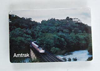 Vintage 1980's Hoyle Amtrak Train Crossing River Playing Cards
