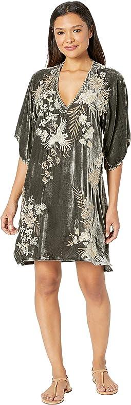 Othilia Velvet Kimono Dress