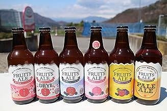 【数量限定】信州須坂フルーツエール330mlビン 飲み比べ全6種類セット【2019年秋季全国酒類コンクール1位、3位を含む】