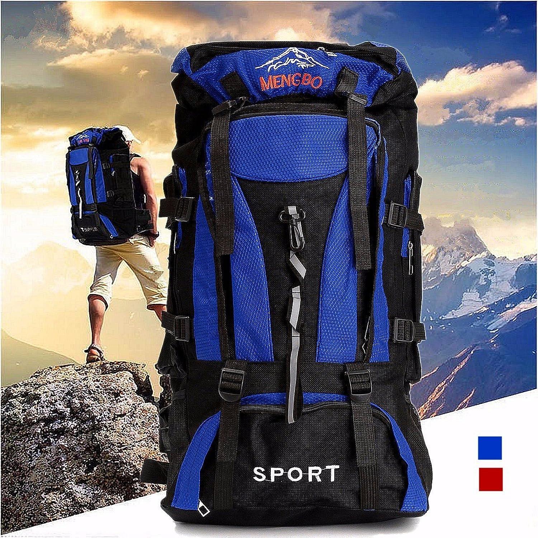 Bazaar 70L Mountaineering Travel Backpack Rucksack Nylon Bag Pack For Camping Hiking Trekking