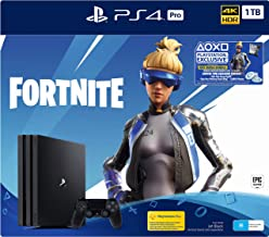 """NEW"" PS4 Pro 1TB Console Fortnite Neo Versa Bundle + 2000 V-Bucks, Pro Black (Fortnite)"