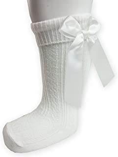 BABY GIRLS TIGHTS WHITE CREAM PINK FORMAL FANCY CHRISTENING PARTY WEAR NB 24M