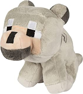 JINX Minecraft Baby Wolf Plush Stuffed Toy