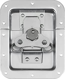 Reliable Hardware Company RH-A3004-A Large Butterfly Spring Loaded Road Case Recessed Latch, Zinc