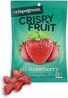 Crispy Green Freeze-Dried Fruit, Single-Serve, Strawberry, 0.32 Ounce (Pack of 12) |