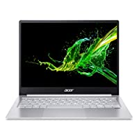 Acer Swift 3 SF313-52 13.5-inch (34.29 cms) Laptop (10th Gen Intel Core i5-1035G4 processor/8GB/512GB SSD/Window 10 Home 64Bit/Integrated Graphics), Silver