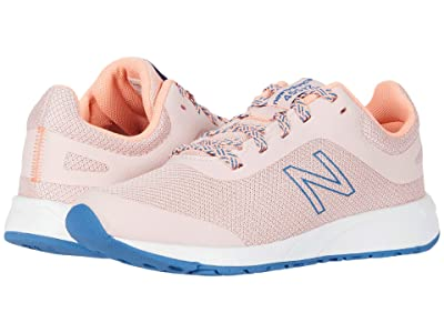 New Balance Kids 455v2 (Little Kid/Big Kid) (Peach Soda/Ginger Pink) Girls Shoes