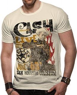 Loud Distribution -  T-shirt - Stampe musica e cinema - Collo a U  - Maniche a 3/4 - Uomo