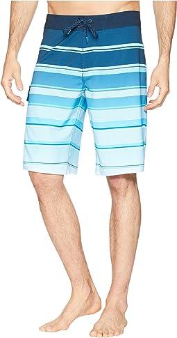 All Day X Stripe Boardshorts