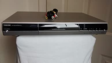 Toshiba D-R5 DVR/DVD Video Recorder. DVD-RAM/DVD-R/DVD-RW Recording. 1080i/720p/480 Upconverting w/ HDMI, Progressive Scan, DIVX, Dolby Digital Recording, Compact Disc Digital Audio. REMOTE INCLUDED.