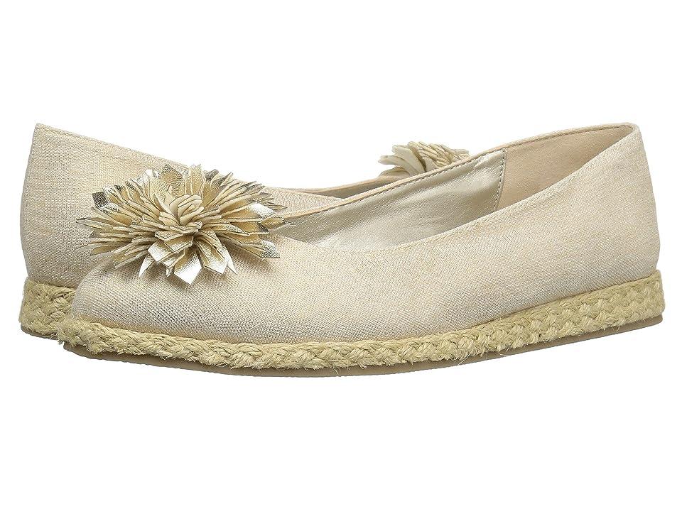 Bandolino Blondelle (Gold Metallic Coated Linen/Metallic Nappa Synthetic) Women
