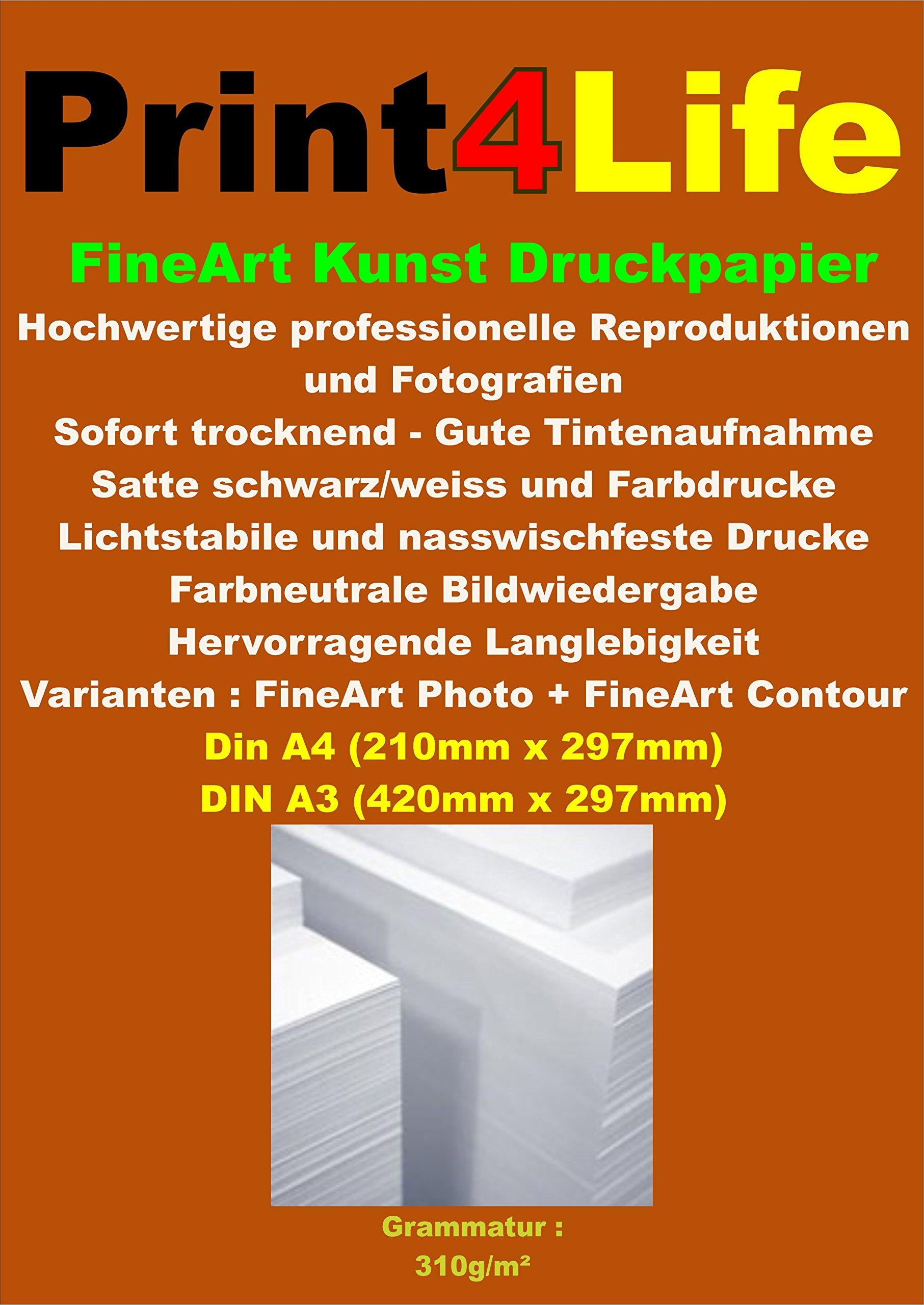 Papel recubierto 25 hojas A4 de alta calidad: Amazon.es: Electrónica