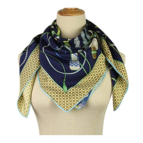 785a7ca1a06 Silk Scarf Square Scarf for Hair Women-Pantonight 100% Pure Silk 14MM Hand  Rolling