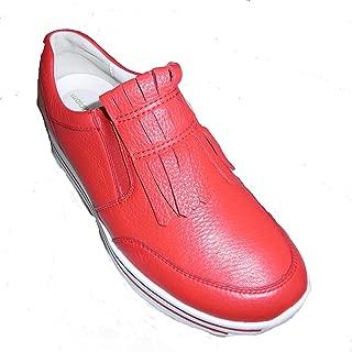 Waldläufer Women's Leather Sneaker US 9.5/ UK 7/ EU 41 red