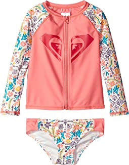 Roxy Kids - Caravine Beauty Fashion Lycra Set (Toddler/Little Kids)