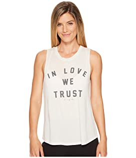 In Love We Trust Muscle Tank Top
