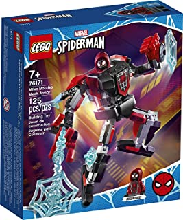 LEGO 76171 Marvel Spider-Man Miles Morales Mech armor , New 2021 (125 Pieces)