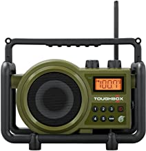 Sangean TB-100 (Toughbox) AM / FM / AUX-In Ultra Rugged Digital Tuning Rechargeable Radio
