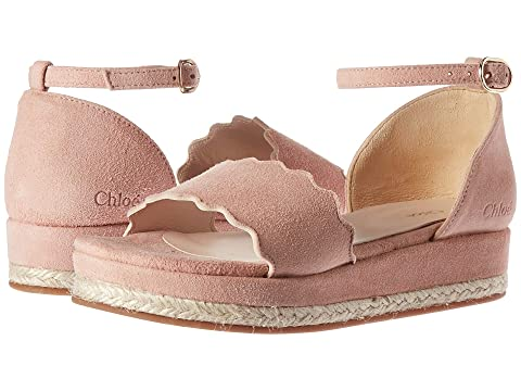 Chloe Kids Suede Platform Sandals (Little Kid)