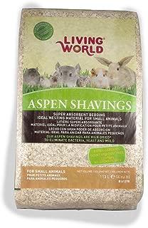Living World Wood Aspen Shavings, 4-Cubic Feet