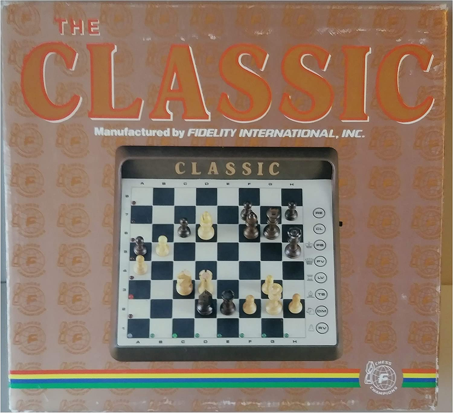 The Classic Vintage Fidelity Electronics - Electronic Chess Game
