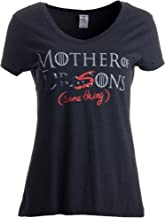 Mother of Dragons (er, Sons - Same Thing) | Funny Mommy Ladies' V-Neck T-Shirt