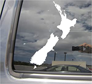 Right Now Decals New Zealand Country Island - NZ Wellington Auckland Pacific - Cars Trucks Moped Helmet Hard Hat Auto Automotive Craft Laptop Vinyl Decal Store Window Wall Sticker 07224