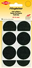 Kleiber Felt Gliders 35mm Zwart, 18 x 10 x 1 cm