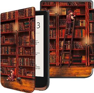 FINTIE Cienkie etui do Pocketbook Touch HD 3 / Touch Lux 4 / Basic Lux 2 czytnik e-booków - najwyższej jakości lekki pokro...