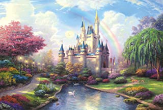 Psychedelic castle jigsaw Puzzles 1000 Pieces for Adults pure wood super quality-Entertainment Toys for Adult Special Grad...