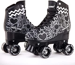 C SEVEN Classic Retro Roller Skates for Kids and Adults