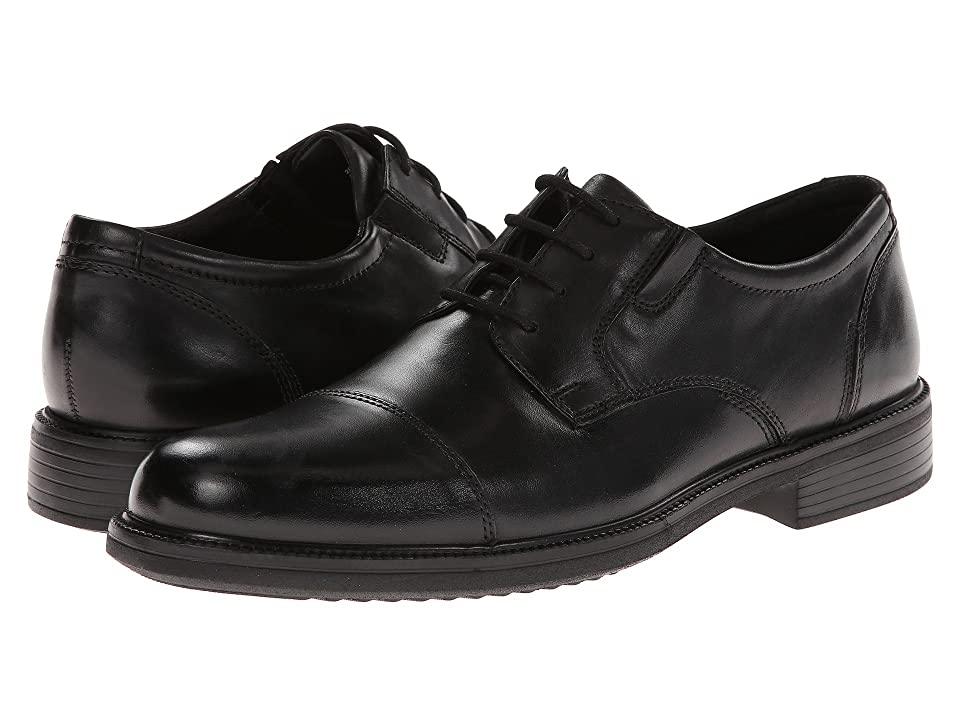 Bostonian Bardwell Limit (Black Leather) Men