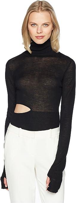 Cashmere Ama Bodysuit Long Sleeve Turtleneck