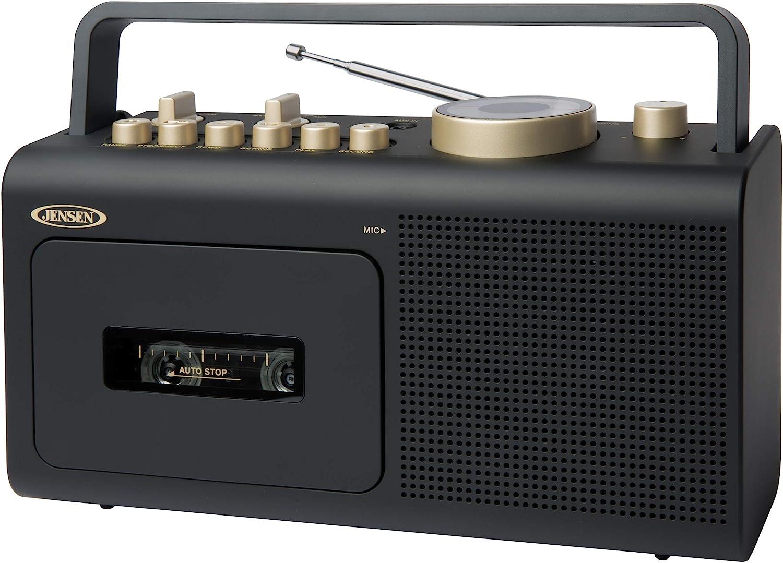 Jensen MCR-250 Modern Retro Portable Re Super sale National uniform free shipping period limited Personal Cassette Player