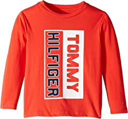 Matt Long Sleeve Crew Neck Shirt (Toddler/Little Kids)