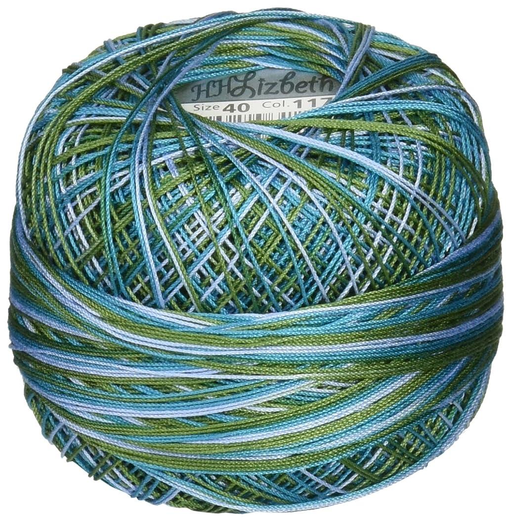 Handy Hands Lizbeth Premium Cotton Thread, Size 40, Country Side