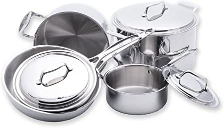USA Pan 5-Ply Stainless Steel Cookware