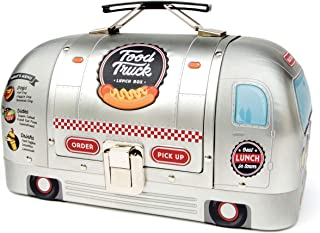 Suck UK Truck Bag for Adults | Kids Lunch Box | Food Containers, One Size, Silver