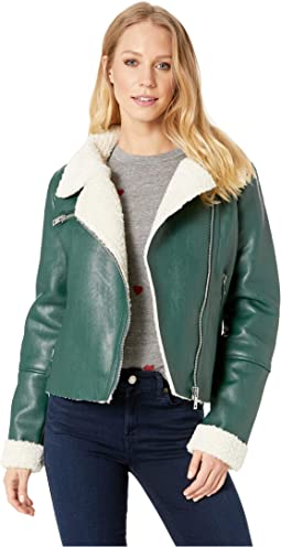 6c8f7157a4b Blank nyc real leather moto jacket in the one at 6pm.com