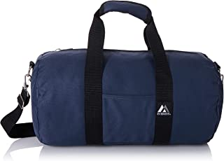 "Everest Bolsa esportiva redonda de 40,64 cm (1, Bolsa esportiva redonda de 40,64 cm (16""), Azul marino, One Size"