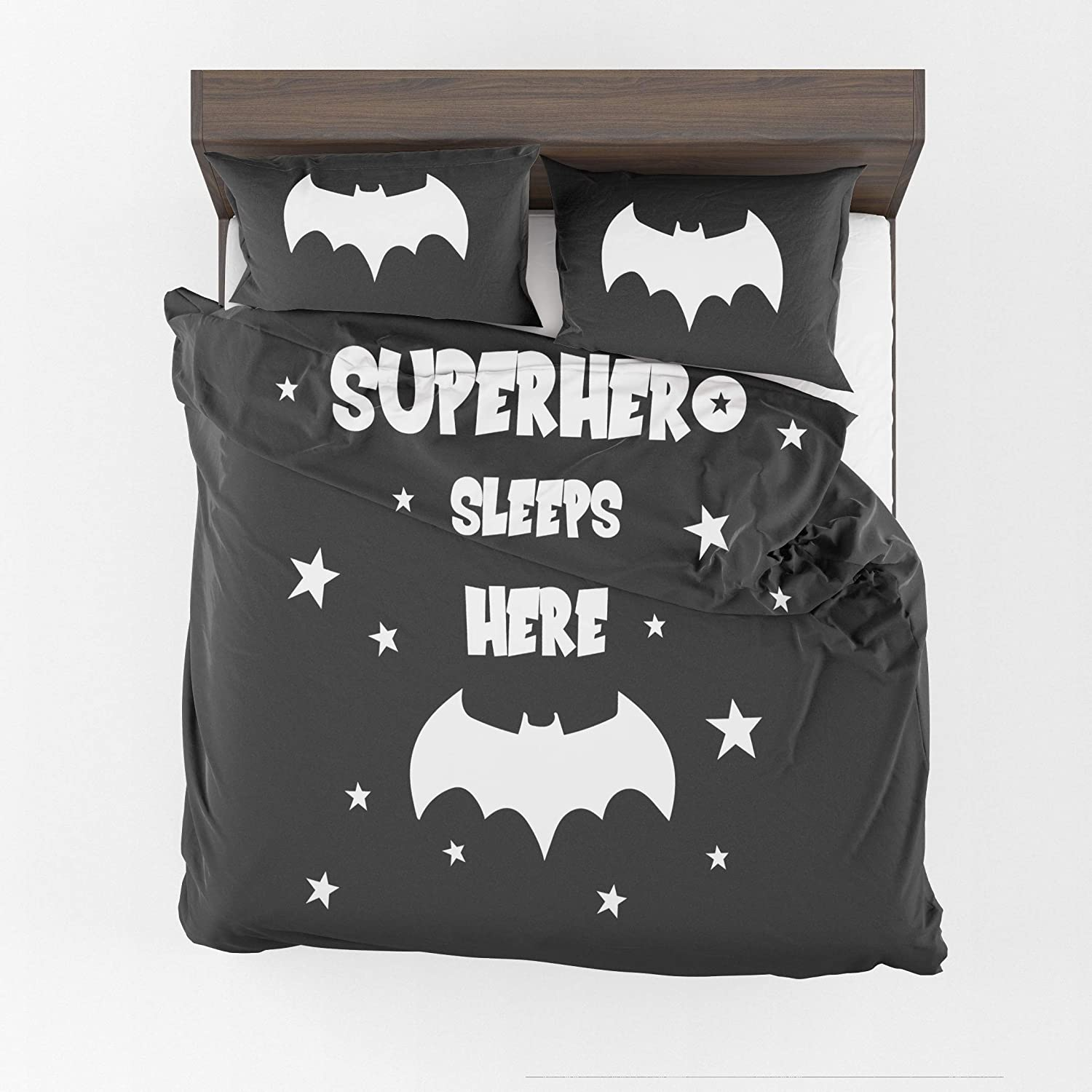 CB Smiles Superhero Sleeps here Sale Special Price Duvet Kids Bedding Super beauty product restock quality top! Cover Be Boys
