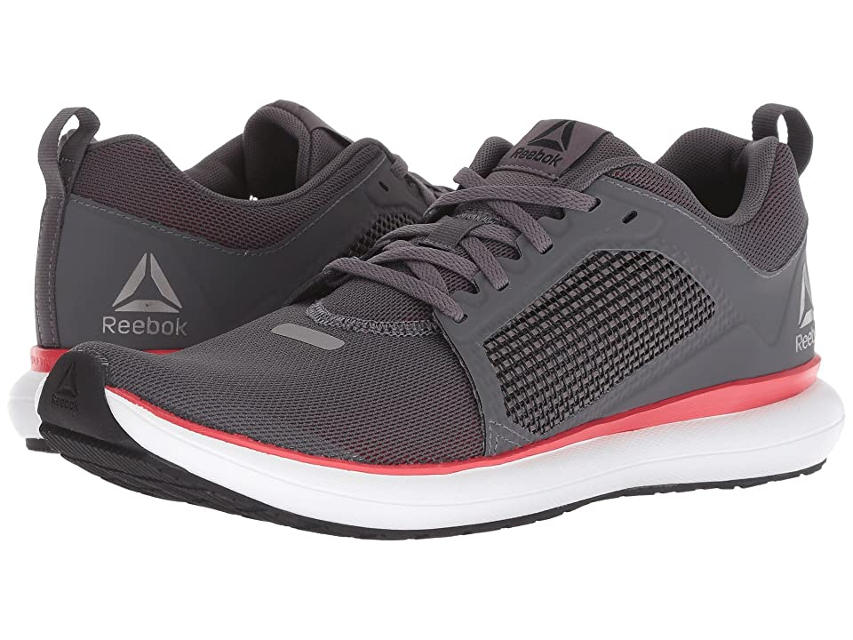 c5fe81d523e Reebok Driftium Ride (Ash Grey Primal Red White Black Pewter) Men s Shoes