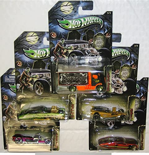 halloween hot wheels set of 5 collection by Hot Wheels