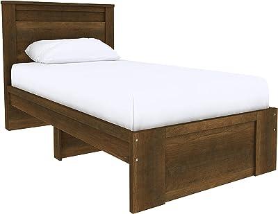 Amazon Basics Colombo Tête de lit plate, style classique - Lit une place, Bois