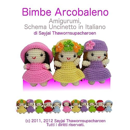 Crochet Sarahi bambola, viola vestito, bambola Amigurumi ... | 500x500